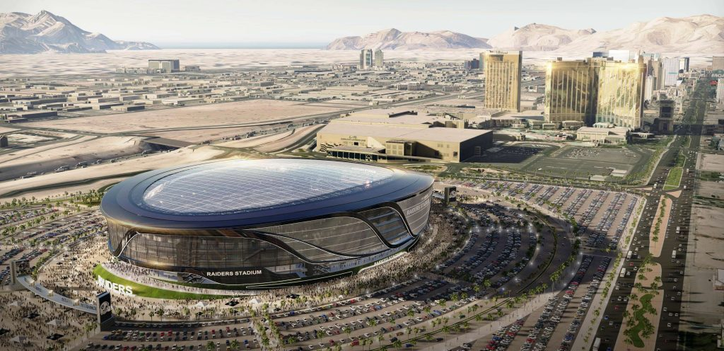 It's now more than a proposal. It's a reality. The Raiders are leaving Oakland for Las Vegas and will play in a 65,000-seat domed stadium just 3.5 miles from Tahiti Resort!
