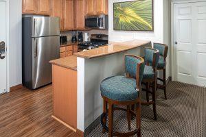 Tahiti Resort Las Vegas guest room remodel kitchen